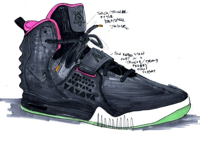 nike air yeezy 2 kanye west - cool sht