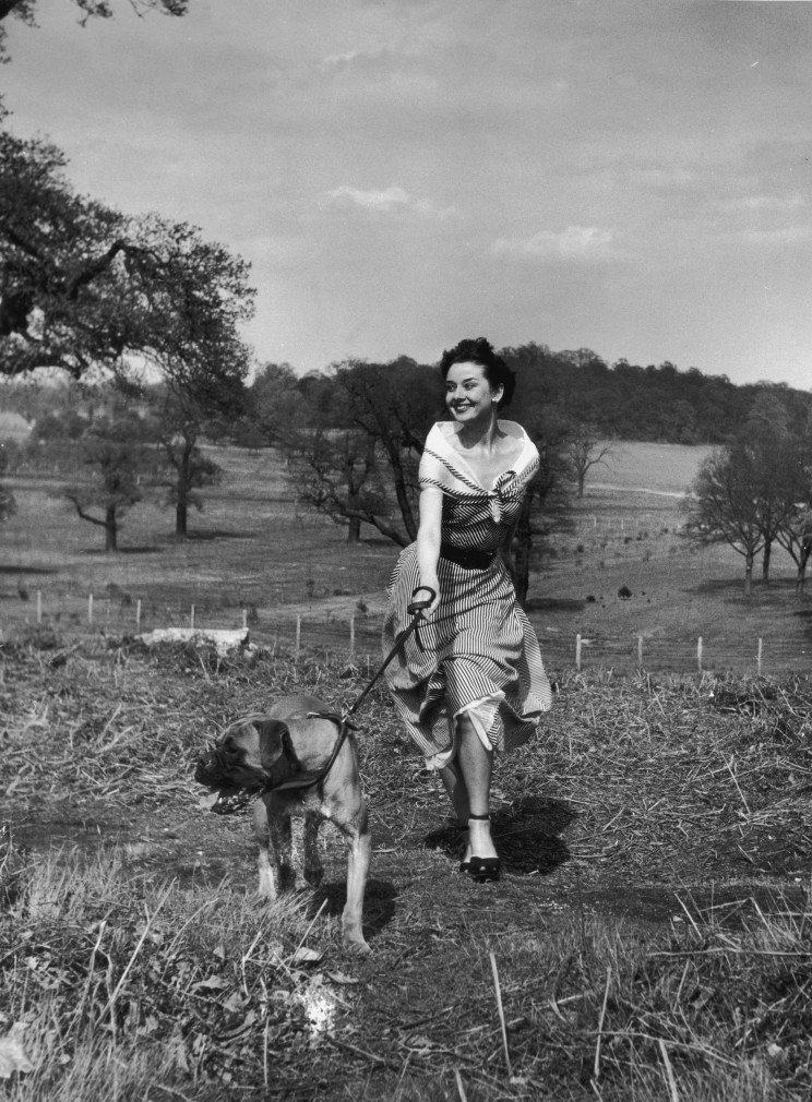 Audrey Hepburn in Richmond Park by Bert Hardy - Cool Sht
