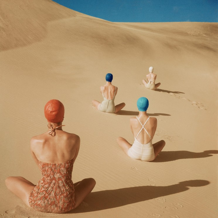 Vogue Like a Painting - Clifford Coffin 1949 - Cool Sht
